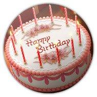 магнитик с днем рождения