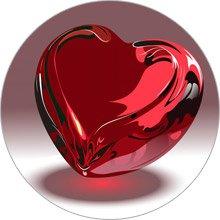 магнит валентинка