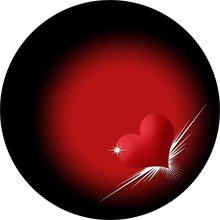 валентинки сердечка магниты