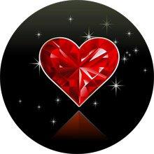 бриллиантовое сердечко