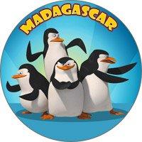 магнит пингвины мадагасар