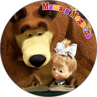 маша и медведь  сувениры