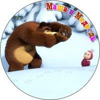 маша и медведь купить магнит