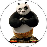 магнит панда кунгфу