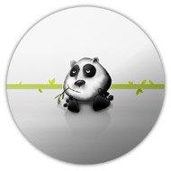 магнит панда значок