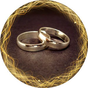 свадебные магниты